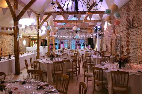 diy wedding decorations pompoms at upwaltham barns