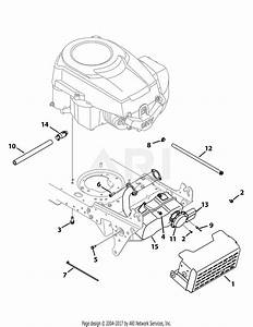 Troy Bilt 13ax78ks066 Bronco  2010  Parts Diagram For