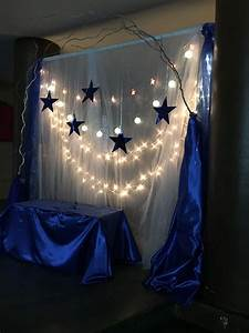 Royal blue and Silver Quinceañera #photobooth   Blue party ...