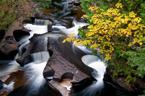 presque isle river porcupine mountains wilderness state