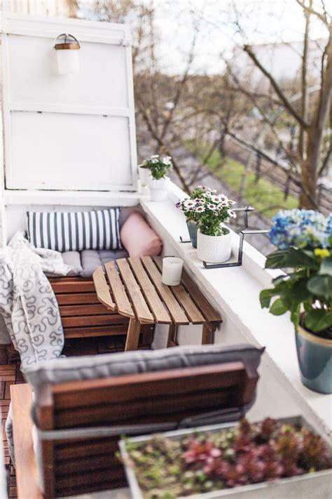 Gestaltung Kleiner Balkon by Unser Kleiner Mini Balkon Tipps Einrichten Staufl 228 Che