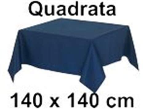 tovaglia cotone    cm quadrata tinta unita