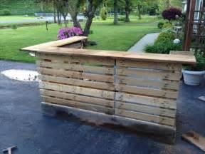 7 creative diy outdoor pallet bar ideas pallets designs