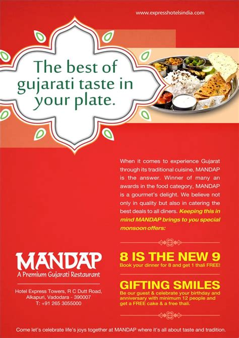 cuisine express authentic gujarati thali restaurant vadodara mandap