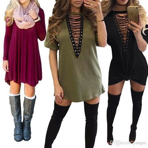 Hot Selling Dresses For Women Clothes Fashion Long Sleeve