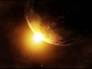 wallpapers: Sunrise In Space