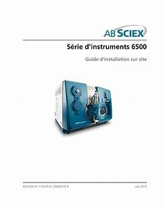 User Guide  Ab Sciex 6500 Series Of Instruments Site
