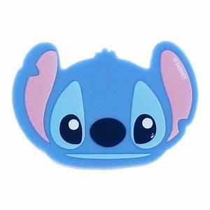 Lilo & Stitch Face Shape Eraser - Stitch from