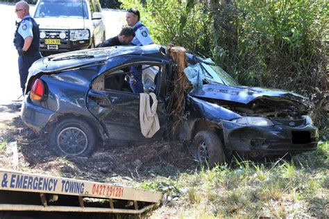 Four People Sustain Serious Injuries After Car Crash On