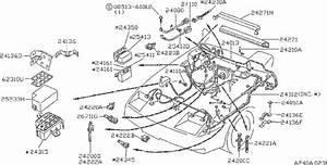 Nissan 300zx Harness Egi Sub  Engine