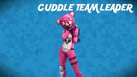 Drawing The Cuddle Team Leader (fortnite Battle Royale