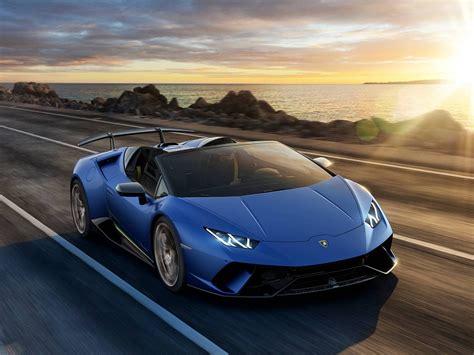 Lamborghini Huracan 2019 by 2019 Lamborghini Huracan Performante Spyder Debuts Drive