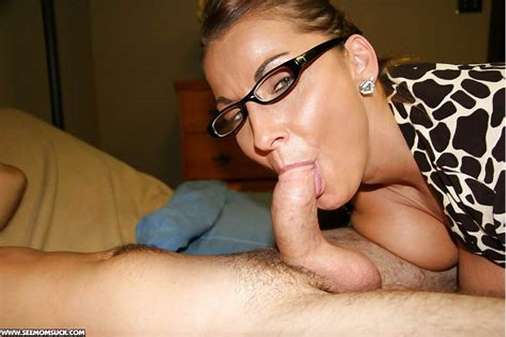 #Mature #Woman #Glasses #Blowjobs #031