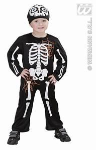 Halloween Skelett Kostüm : skelett kost m kinder overall u kopfbedeckung 92 u 98 ~ Lizthompson.info Haus und Dekorationen