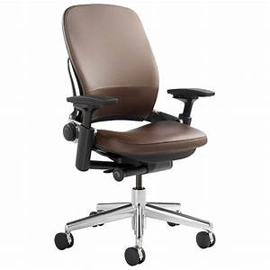 Steelcase leap chair in leather shop steelcase leap chairs for Leap chair steelcase