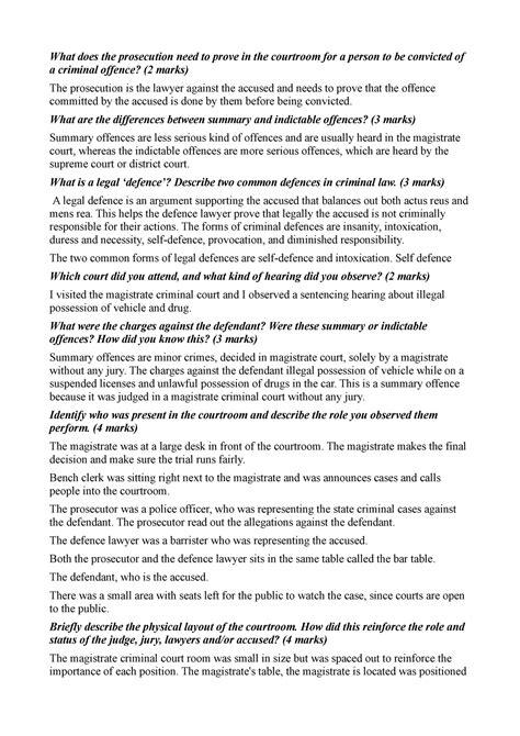 Court report - 1012CCJ - Griffith - StuDocu