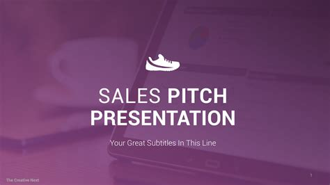 sales  professional sales pitch template
