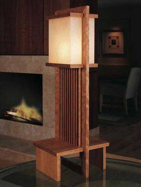 frank lloyd wright lamp downloadable plan