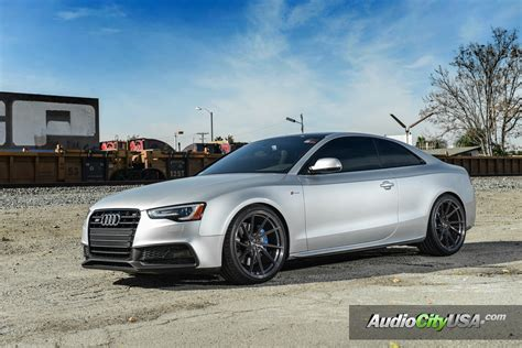 Audi S5 Custom Wheels Stance Sf01 20x10.5, Et , Tire Size