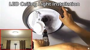 Install 14 U0026quot  Led Ceiling Light