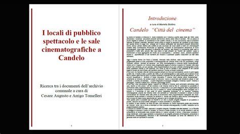 Candelo Cinema Verdi by I Locali Di Pubblico Spettacolo E Le Sale Cinematografiche