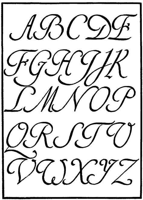 spanish alphabet fonts images gothic calligraphy