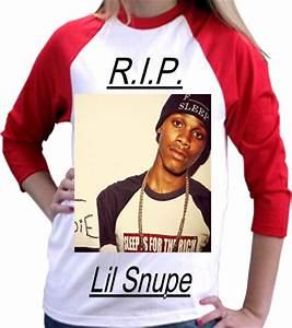 R I P LIL SNUPE Anvil Youth T Shirt 2184B 2184B2029