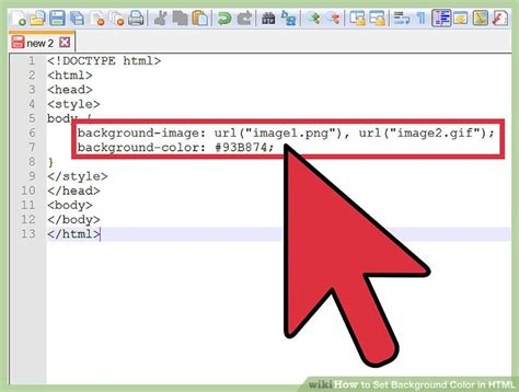 how to change the background color in html 4 ways to change background color in html wikihow