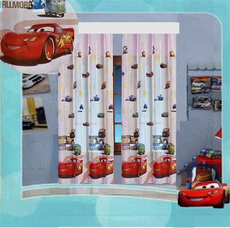 Kinderzimmer Junge Cars by Kinderzimmer Gardine Auto Cars Ii Disney 2 Teile 2x
