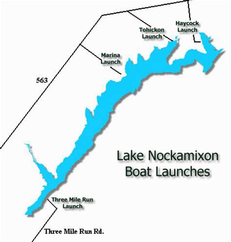 Boat Rentals Near Quakertown Pa by Lake Nockamixon Map My