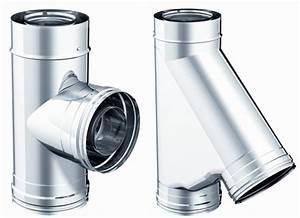 Conduit Cheminée Inox : t conduit de fum e double paroi 250 r f conduits de fum e conduits de fum e conduits ~ Preciouscoupons.com Idées de Décoration