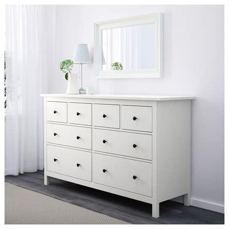 ikea dresser hemnes hemnes chest of 8 drawers white 160x96 cm ikea