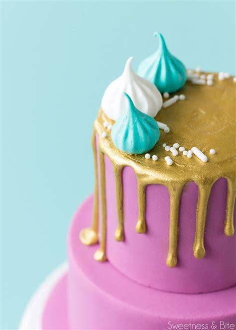 how to make cakes how to make a mini drip cake sweetness bite