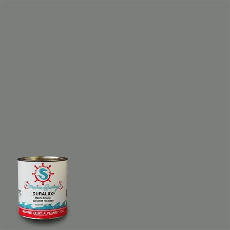 Duralux Aluminum Boat Paint Gray by Rust Oleum Marine 1 Qt Blue Flat Boat Bottom Antifouling