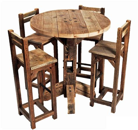 high top table chairs rustic high top table set decorative table decoration