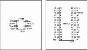 M41t56m6 Integrated Circuit Chip 512 Bit  64 Bit X8