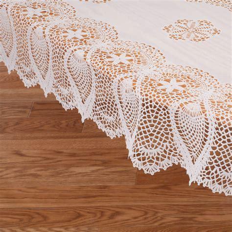 vinyl lace tablecloths vinyl lace tablecloth vinyl tablecloth miles kimball