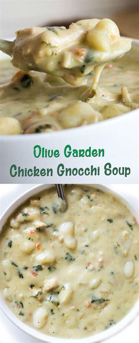 olive garden chicken gnocchi soup recipe olive garden chicken gnocchi soup