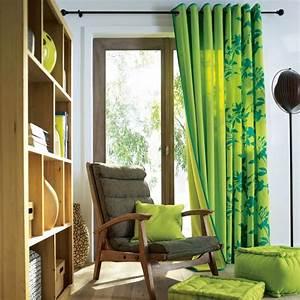 rideaux blanc et vert anis atlubcom With wonderful idees pour la maison 12 urne mariage nature 5 deco