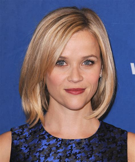 styles for hair reese witherspoon medium casual bob hairstyle 8864