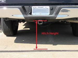 Ball Mount Basics How To Measure For Trailer Hitch Drop