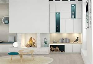 Meuble De Rangement Salon : meuble sur mesure salon qu59 jornalagora ~ Teatrodelosmanantiales.com Idées de Décoration
