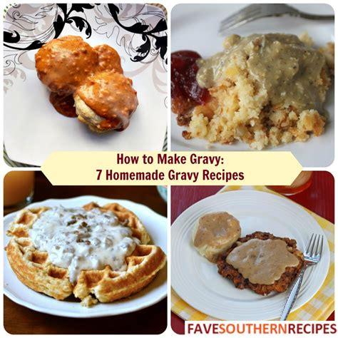 how to make brown gravy how to make gravy 7 homemade gravy recipes favesouthernrecipes com