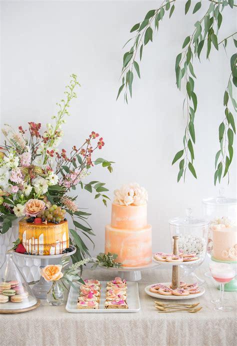 bridal shower desserts crate and barrel blog