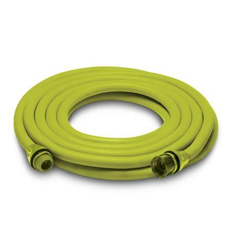 home depot garden hose sun joe 0 75 in x 100 ft standard free garden hose