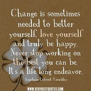 POSITIVE QUOTES ABOUT LIFE CHANGES image quotes at ...