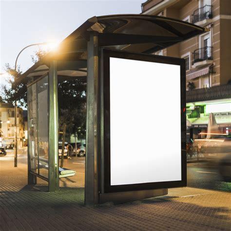 Blank Square Billboard blank billboard  bus stop shelter  night photo 626 x 626 · jpeg