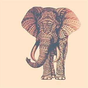 Tribal print elephant. THE CUTEST THING EVER. | Tribal ...