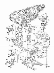 Audi S5 Sportback Strut Brace For Assembly Carrier