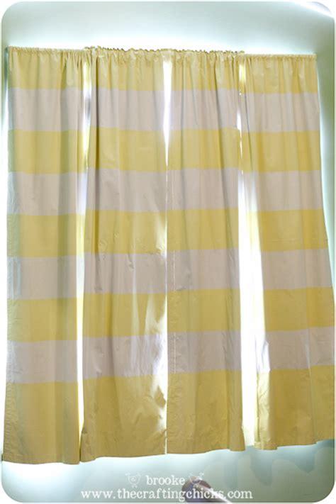 blackout curtains diy striped blackout curtains using scotchblue painter s Diy